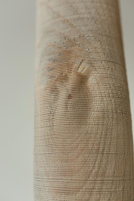 Ernst Gamperl, '40/2014//130', 2014, Sculpture, Turned copperbeech wood sculpture, Spazio Nobile