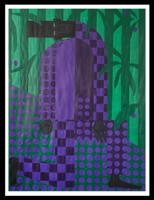 , 'Man In The Violet Dreamscape No. 4,' 2018, The Hole
