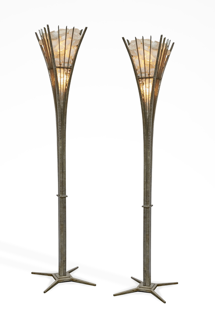 , 'Pair of Floor Lamps,' ca. 1990, Galerie Marcilhac