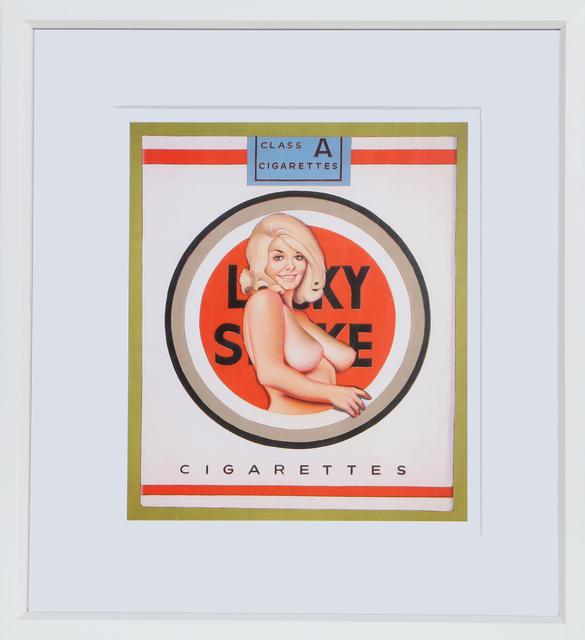 Mel Ramos, 'Lucky Strike', Late 20th Century, RoGallery