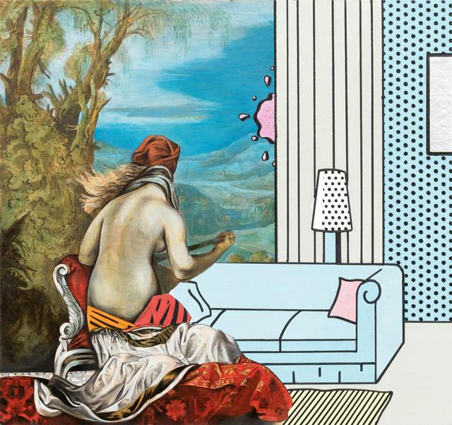 , 'untitled (back),' 2018, Galerie Kleindienst