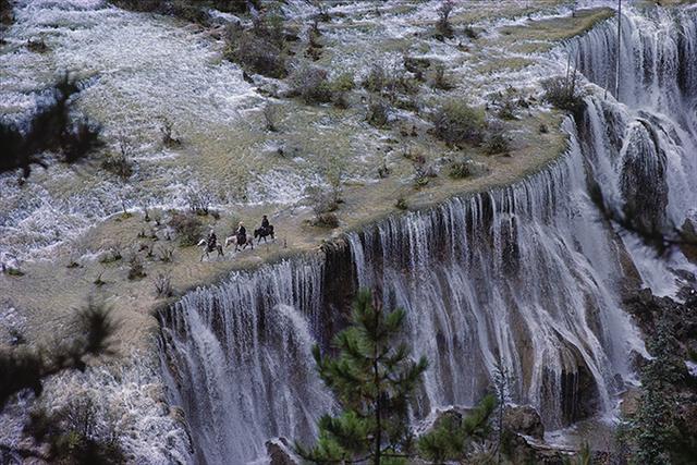 , 'Pearl Shoal Waterfall Jiuzhaigou, Sichuan, China,' 1984, Pucker Gallery