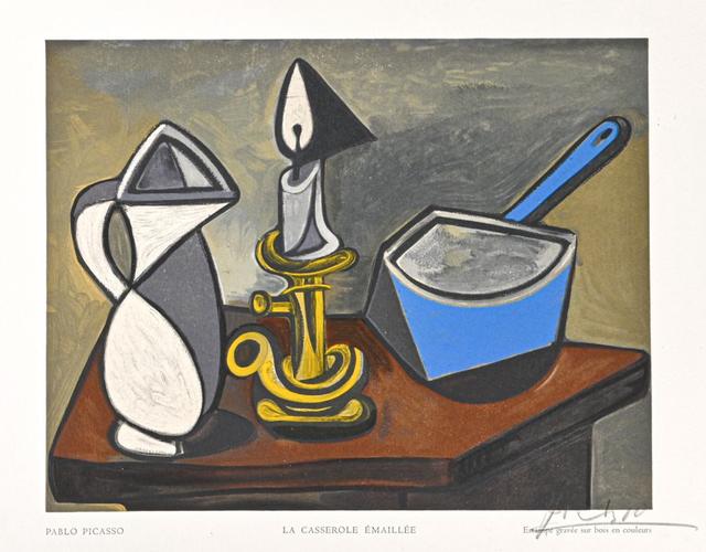 Pablo Picasso, ' La casserole émaillée', 1950, Print, Woodcut, Van der Vorst- Art