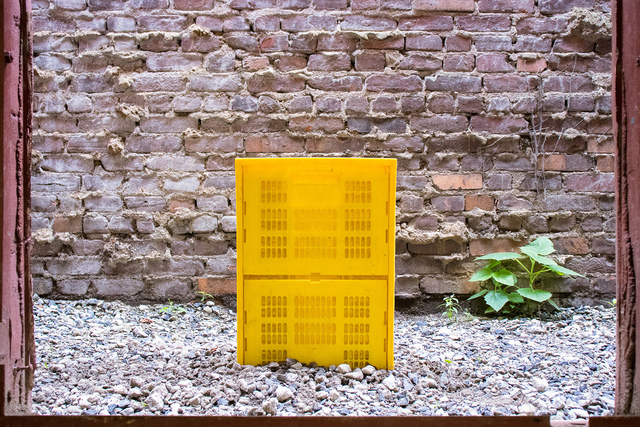 Bat-Ami Rivlin, 'Untitled (Crate)', 2019, Bahnhof Gallery