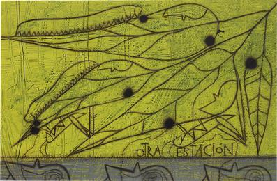 José Bedia, 'Otra estación,' 1997, Phillips: Latin America