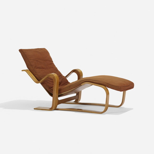 Isokon Furniture Co., 'Long Chaise', c. 1935, Wright