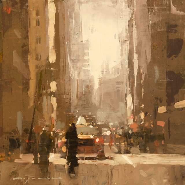 , 'Cityscape - Composed Form Study No. 20,' , Gallery 1261
