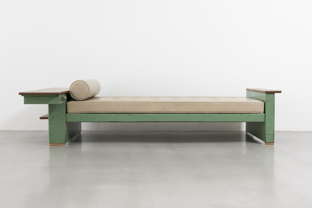 Jean Prouvé, 'Cité bed no. 456, variant with bedhead forming a drawer', 1951, Galerie Patrick Seguin