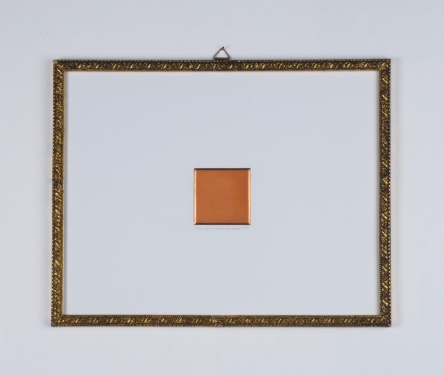 , 'Study for Square Image,' 1993, RCM Galerie
