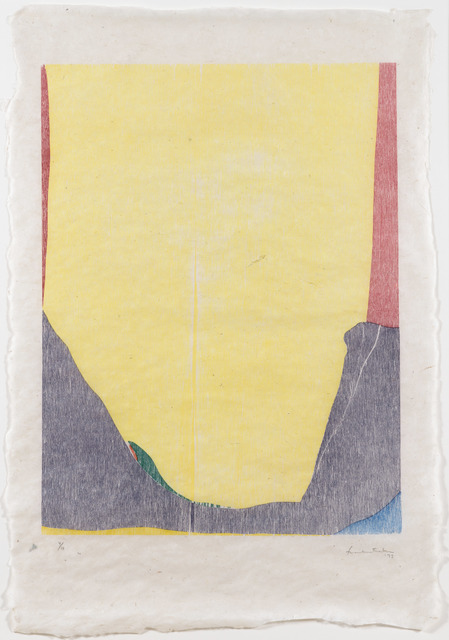 Helen Frankenthaler, 'East and Beyond', 1973, Print, Woodcut, Leslie Sacks Gallery