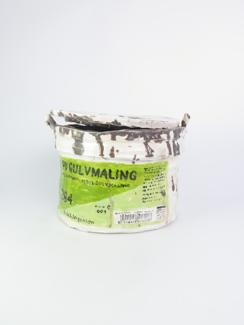 , 'Floor Paint (grey),' 2015, V1 Gallery