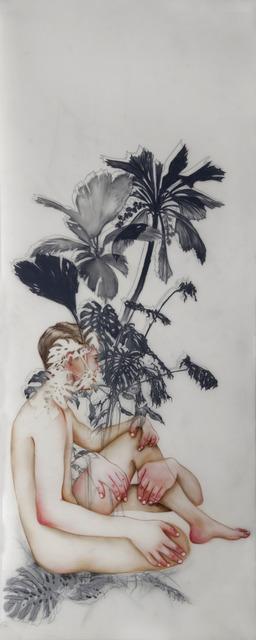 Anthony Goicolea, 'Terrarium  right', 2012, Painting, Acrylic, ink and graphite on mylar, Galeria Senda