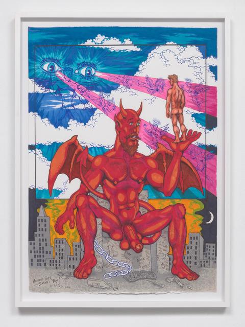 , 'Heaven's Gift, Satan's Toy,' 2018, François Ghebaly