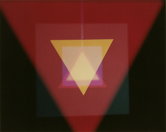 , 'Triangles and Squares 5,' 2013, Sies + Höke