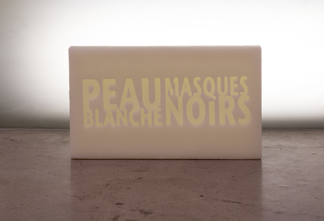 , ' Peau blanche masques noirs,' 2019, Primo Marella Gallery