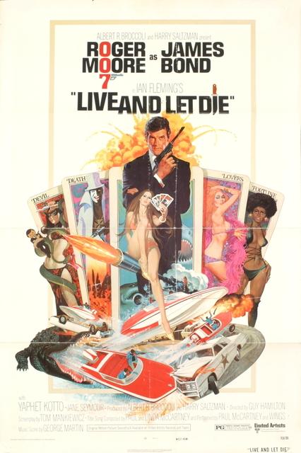 , 'James Bond - Live and Let Die,' 1973, ArtWise