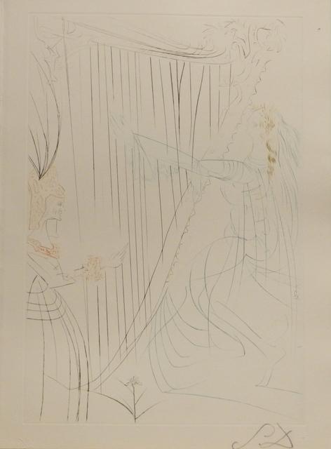 Salvador Dalí, 'Tristan et Iseult Queen Iseult and Her Daughter', 1970, Fine Art Acquisitions