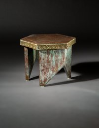 Stool from Price Tower, Bartlesville, Oklahoma
