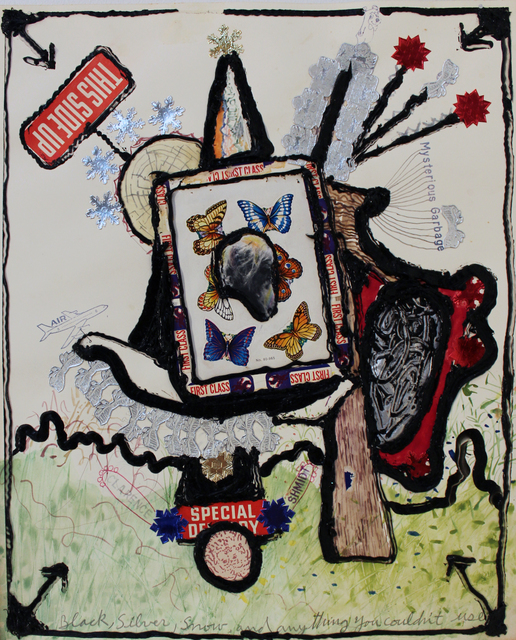 , 'Black, Silver, Snow, and Anything You Couldn't Use,' 1976, Philadelphia's Magic Gardens