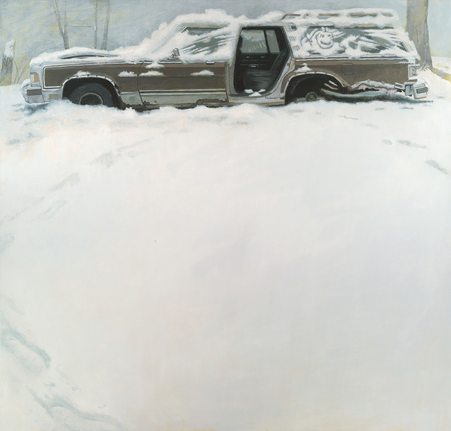 Shawn Fields, 'Winter Wagon', not dated, Somerville Manning Gallery