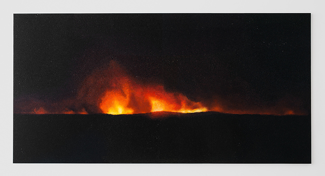 , 'Fire (America) 3,' 2016, Lehmann Maupin