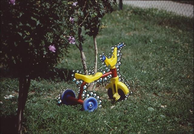 , 'Triciclo giallo,' 1999, Studio Guenzani