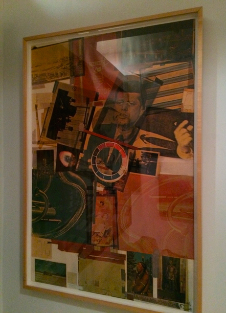 Robert Rauschenberg, 'Core', 1965, Print, Lithograph, offset lithograph with screenprint and varnish, IFAC Arts