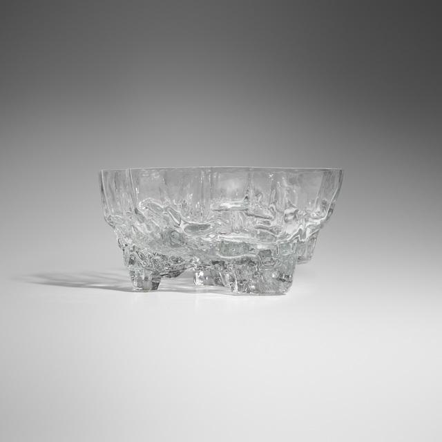 Tapio Wirkkala, 'Rare Iceberg vase, model 3043', c. 1965, Wright