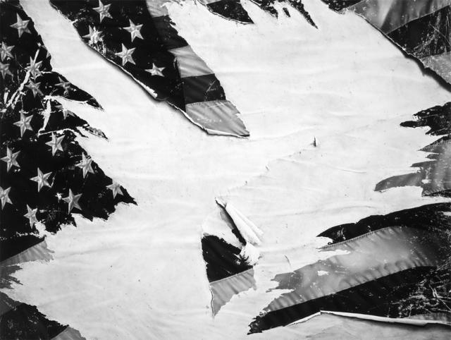 Robert Longo, 'Untitled (Torn Flag)', 2018, Metro Pictures