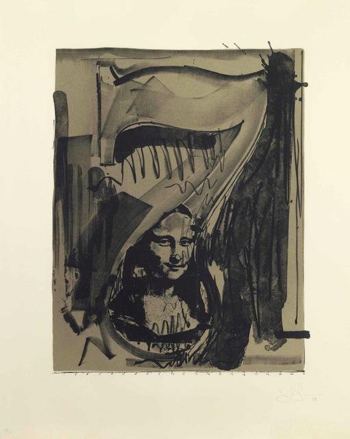 , 'Figure 7, Black Numerals Series,' 1968, F.L. Braswell Fine Art