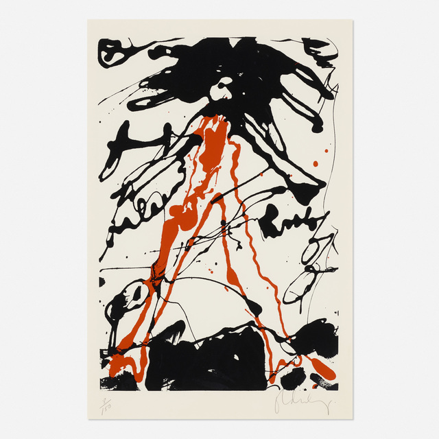 Claes Oldenburg, 'Striding Figure (from Conspiracy: The Artist as Witness portfolio)', 1962, Wright