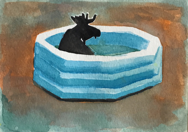 , 'Pool Party,' 2019, Visions West Contemporary