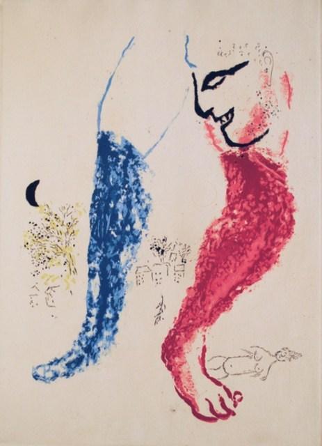Marc Chagall, 'De Mauvais Sujets VI', 1958, Altmans Gallery