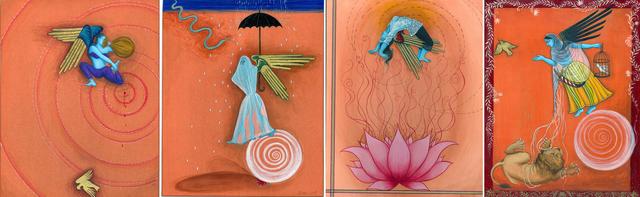 , 'Fereshtini #6-9 (Polyptych),' 2007, ACA Galleries