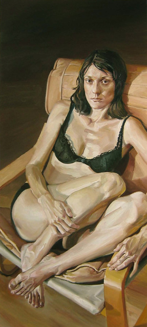 , 'Portrait of Kem In A Black Bra,' 2005, Gallery Henoch
