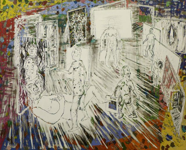 , 'Studiovisit,' 2018, Charlotte Fogh Gallery