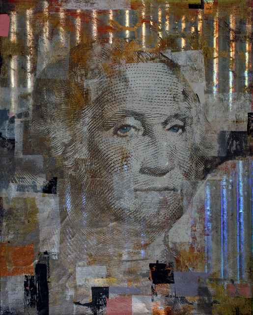 , 'One Dollar George Washington,' 2014, Stephan Stoyanov Gallery
