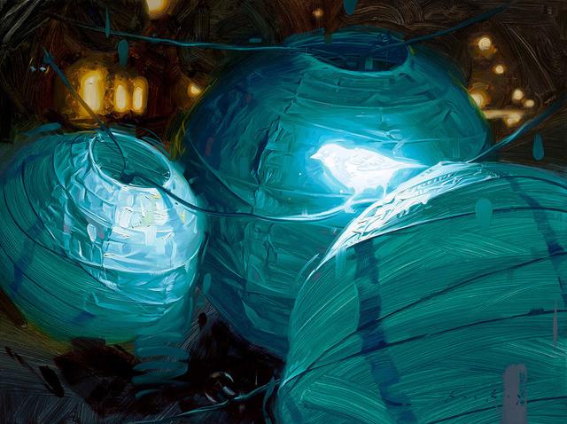 , 'Bioluminescence IV,' , Abend Gallery