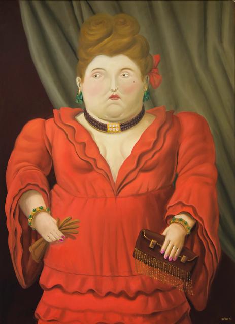 , 'Society Woman,' 2003, David Benrimon Fine Art