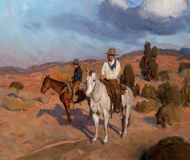 ", '""Surveyors"",' 2018, Maxwell Alexander Gallery"