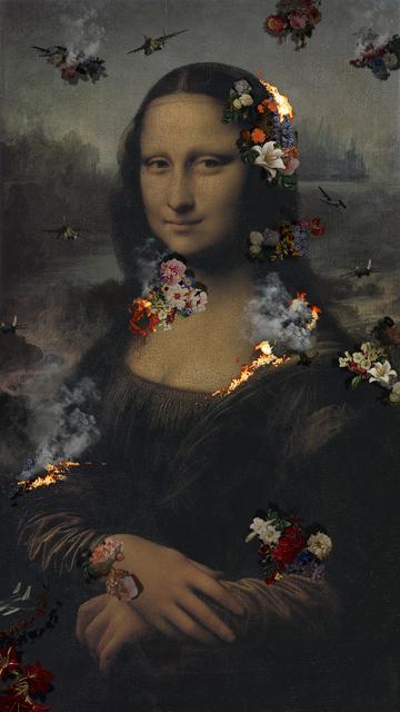 , 'Ruins Mona Lisa (65-inch),' 2016, Pontone Gallery