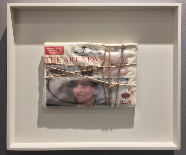 , 'Wrapped The Art Newspaper,' 2015, Carolina Nitsch Contemporary Art