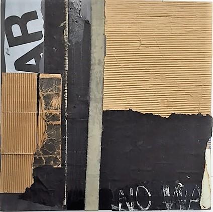 Gayle Wells Mandle, 'Boundary', 2016, Mixed Media, Mixed Media on Canvas, Atelier Newport