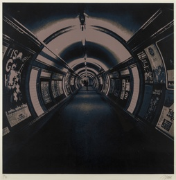 Gerd Winner, 'Underground - Holborne (Blume 54),' 1972, Forum Auctions: Editions and Works on Paper (March 2017)