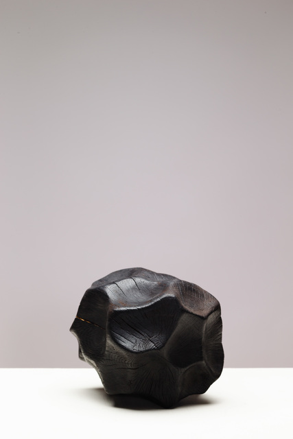 Lawrence Dicks, 'Heart II', 2019, Sculpture, Charred English Oak, Candida Stevens Gallery
