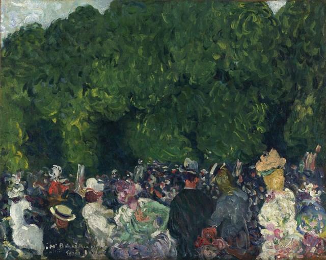 , 'Les Champs Elysées,' 1899, Stoppenbach & Delestre