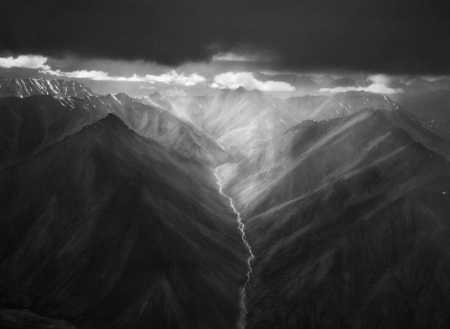 Sebastião Salgado, 'The eastern part of the Brooks Range, the Arctic National Wildlife Refuge, Alaska, USA', 2009, Photography, Gelatin silver print, Sundaram Tagore Gallery