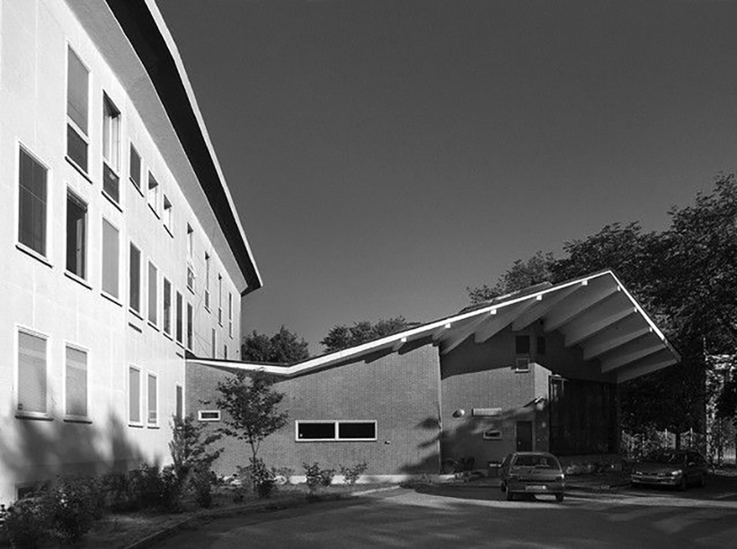 The Italian Cultural Institute in Stockholm. Designed by Gio Ponti 1954.