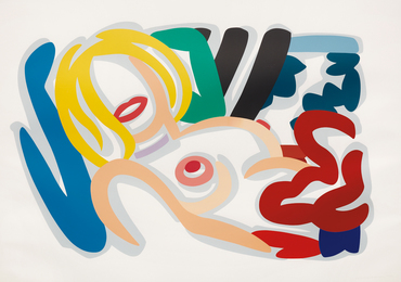 Tom Wesselmann, 'Big Blonde with Choker,' 1992, Phillips: Evening and Day Editions (October 2016)