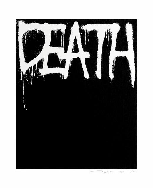 Takashi Murakami, 'Death (black)', 2018, Fineart Oslo